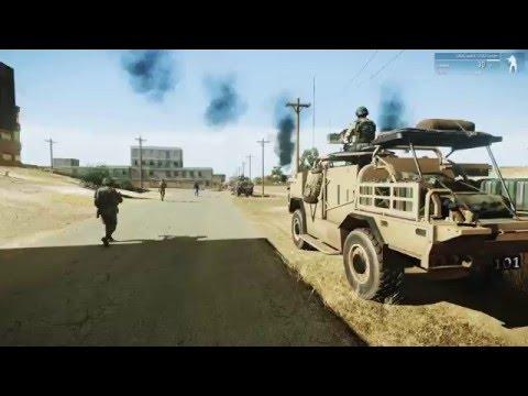 Avgani Iraq, Armed Assault Terrain in ArmA 3