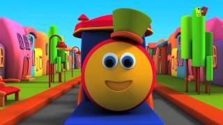 Aprende el Abecedario con Bob el Tren - Vídeo infantil en Español