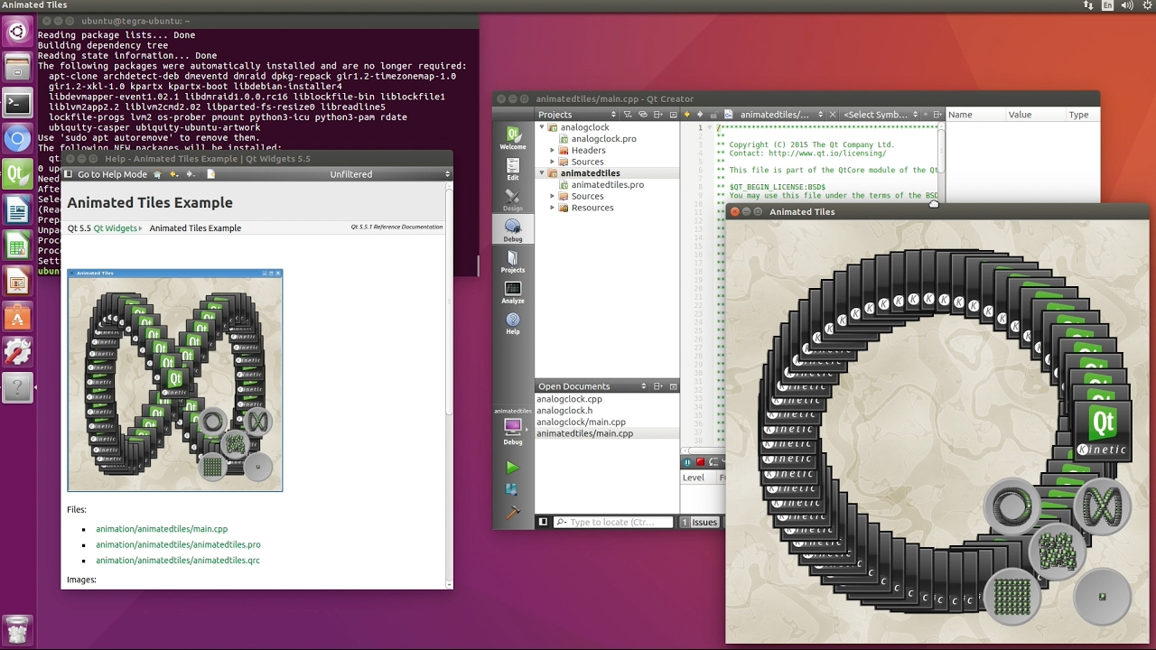 Install Qt Creator on NVIDIA Jetson TX1 - JetsonHacks