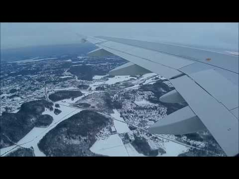 Flying from Kemi Finland to Chicago USA