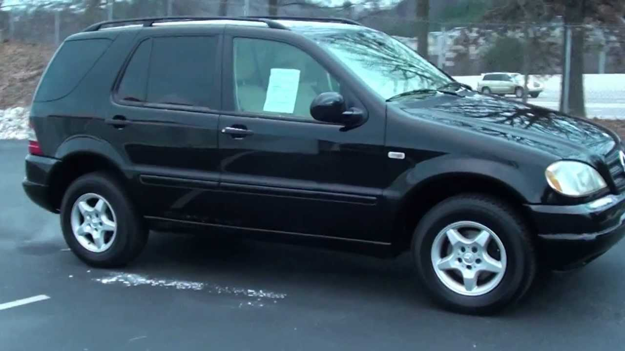For sale 2001 mercedes benz ml320 stk 20097b for 2001 mercedes benz ml320