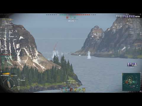 World of Warships - Großer Kurfürst - 162k damage