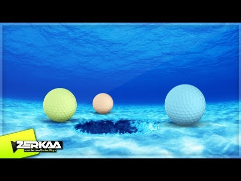 UNDERWATER GOLF COURSE! (Golf It)
