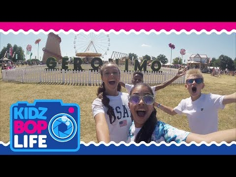 KIDZ BOP Life UK: Vlog #4  The KIDZ BOP Kids Perform  at a Summer Festival