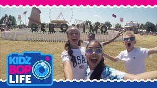 KIDZ BOP Life UK: Vlog #4 - The KIDZ BOP Kids Perform Live at a Summer Festival