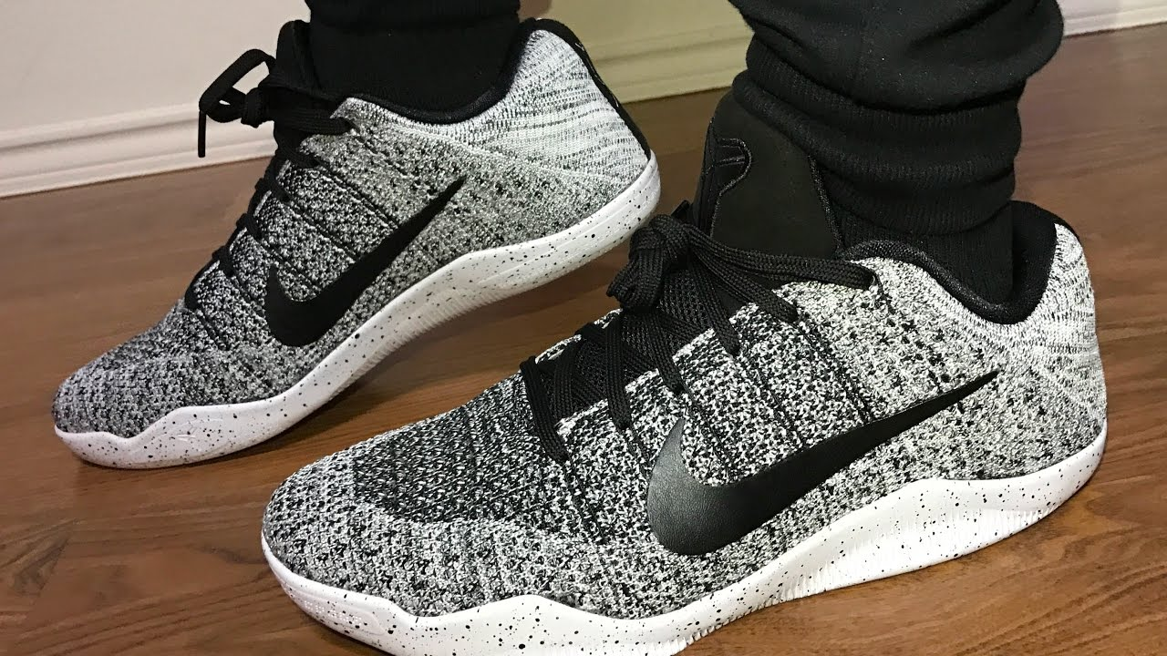 a88c49d784da Kobe 11 ELITE OREOS on feet review - YouTube