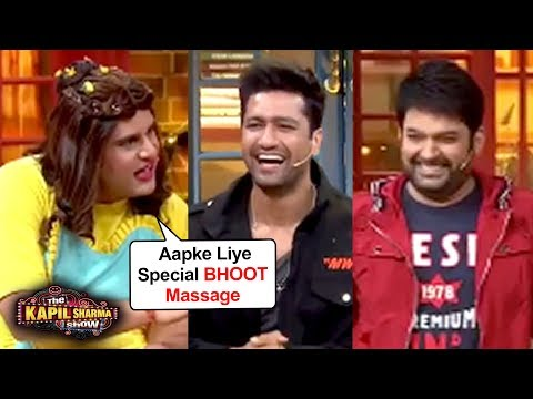 Krushna Abhishek Comedy With Vicky Kaushal, Kapil Sharma, Archana | The Kapil Sharma Show BHOOT