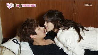 [We got Married4] 우리 결혼했어요 - Seesaw couple's sexually attractive photo shoot! 20160109 thumbnail