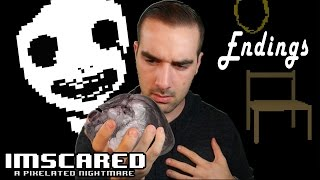 Imscared 2016: A Pixelated Nightmare | Pixel Horror Game - Both Endings