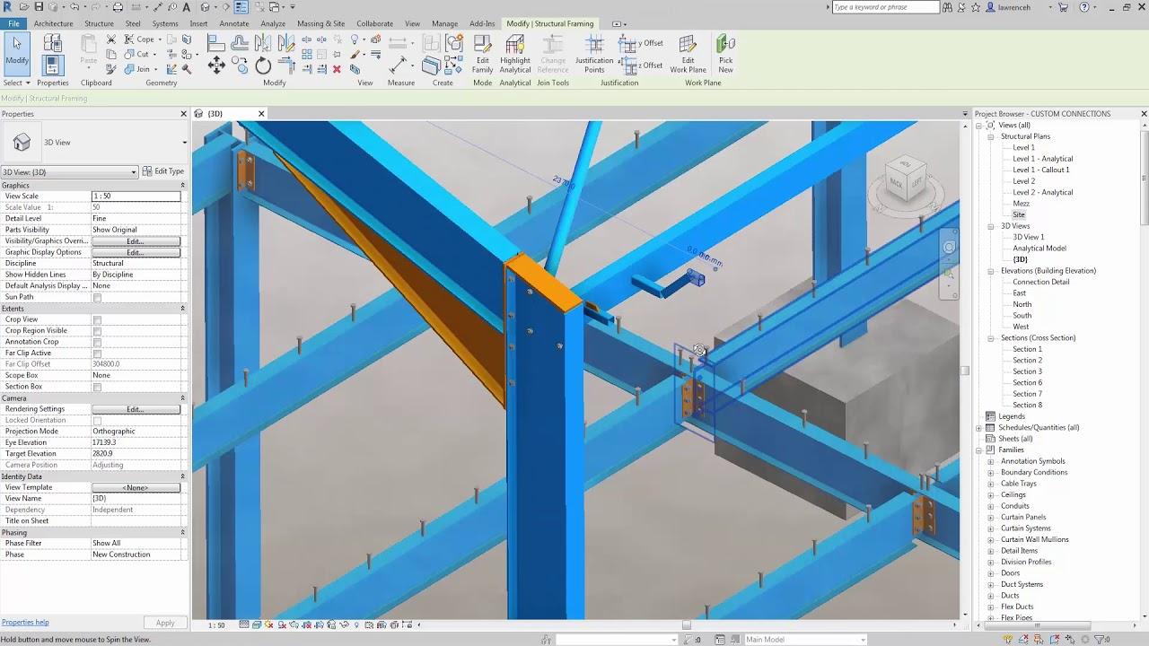 Revit 2019 New Structural Features