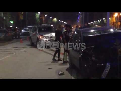 Ora News - Aksident në Vlorë, përplasen katër automjete në Transballkanike, plagoset gruaja