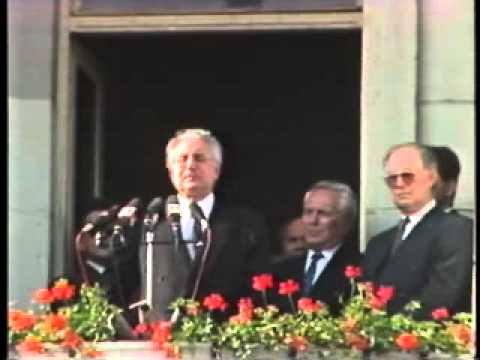 Franjo Tuđman recognizes that started the war