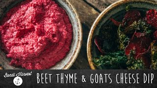 How To Make Beet Thyme And Goat's Cheese Dip