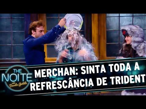 The Noite (30/11/15) - Merchan: Quer Sentir Todo Sabor E Refrescância De Trident?