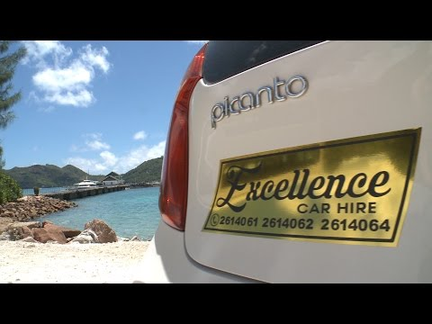 Seychelles #1 of top 5 best rental car on Praslin - Excellence Car Hire