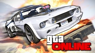 GTA 5 Online (Гонки) - Мастера Рамп! #166