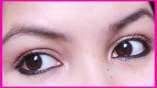 How to apply kajal /smudge proof, long lasting/makeup hack/indiangirlchannel trisha