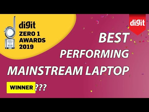 Best Performing Mainstream Laptop - Digit Zero 1 Awards 2019