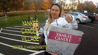 Yankee Candle Village Deerfield Massachusetts New England