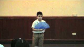 Ethan Jason 2011 Chinese Poetry Competition.avi