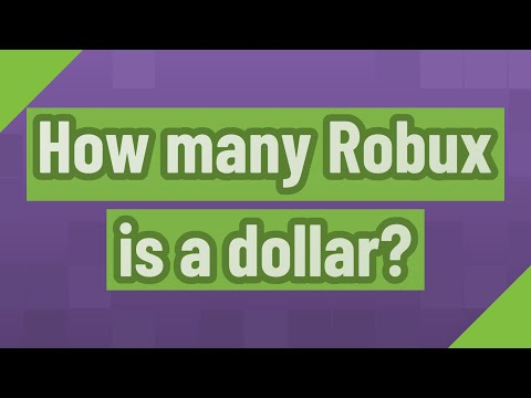 How Many Robux Is A Dollar Youtube