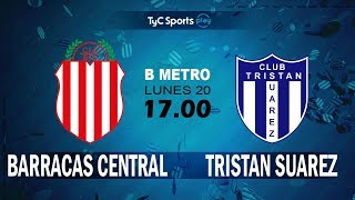 Barracas Central vs Tristan Suarez full match