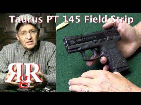 Taurus PT 145 Millennium Pro Field Strip