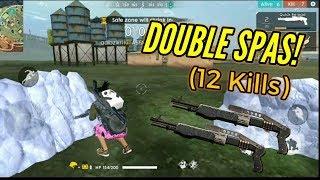 DOUBLE SPAS 12! :O (New Gun) - Garena Free Fire