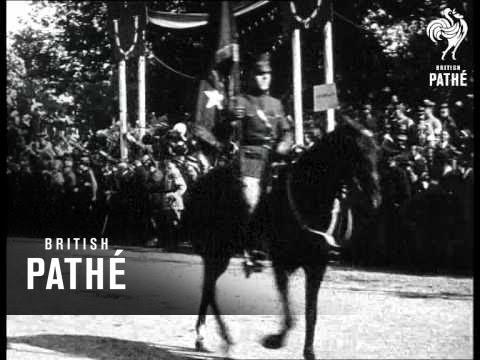 Pershing Retires (1917)