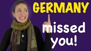 THINGS I MISSED ABOUT GERMANY While in USA