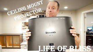 How to Ceiling Mount Projector | Peerless Smart Mount | Panasonic AE-8000U
