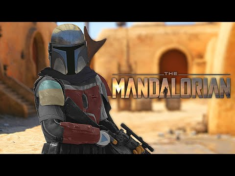 Star Wars Battlefront 2 The Mandalorian - Funny Moments #42
