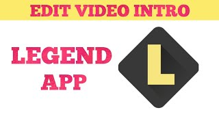 How to Edit Video Intro's in Andriod | Animated text In Video