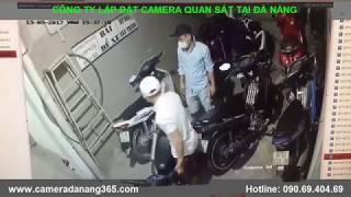 [Camera tại Đà Nẵng] Cảnh giác trộm cắp xe trong phòng trọ
