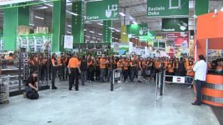 Globus Baumarkt Eröffnung 18.06.2011 Berlin