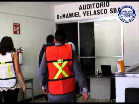SSyPC fortalece cultura de prevención, en tercer simulacro de sismo en Chiapas