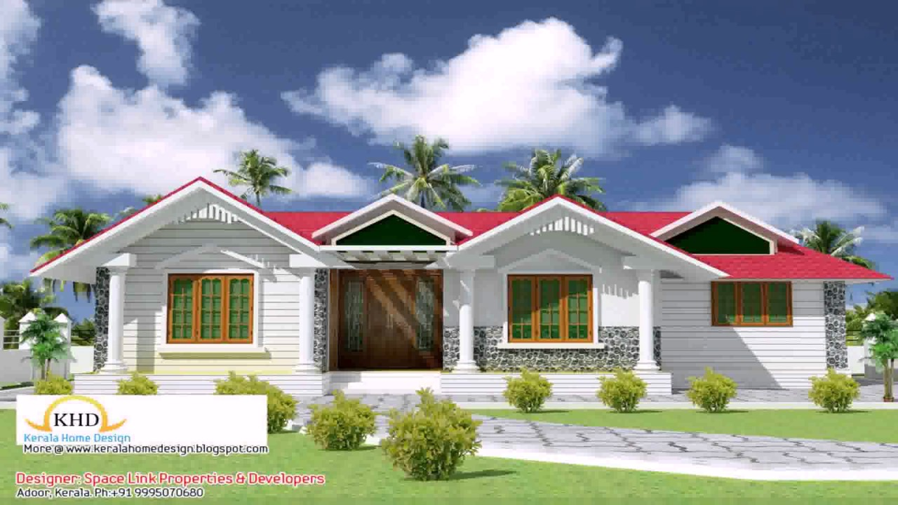 Front Elevation Of House In Kerala : House front elevation kerala style youtube