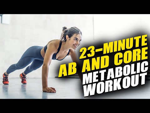 23-Minute Cardio and Abs Workout (Do This 3 Times Every Week)