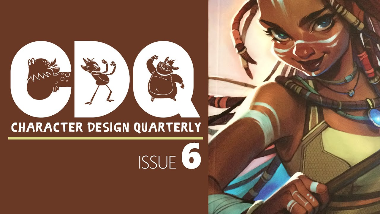 Cdq Character Design Quarterly Magazine Issue 6 Quick Look