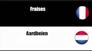 FRANCAIS + NEERLANDAIS = Fruits et fruits à coque