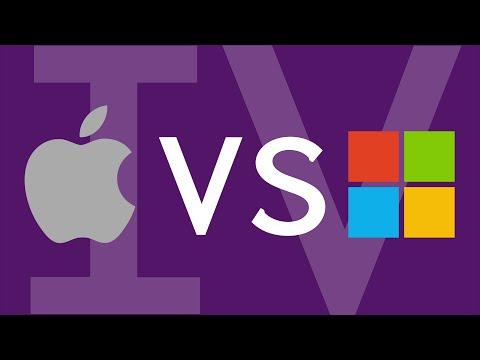 Microsoft & Apple OSs: A visual history