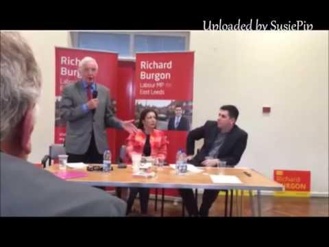 Dennis Skinner speaking at Richard Burgon