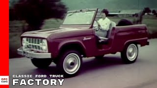 Classic Ford Truck Factory Footage