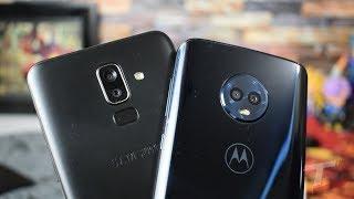 Samsung Galaxy J8 vs Moto G6 Camera Comparison!!!