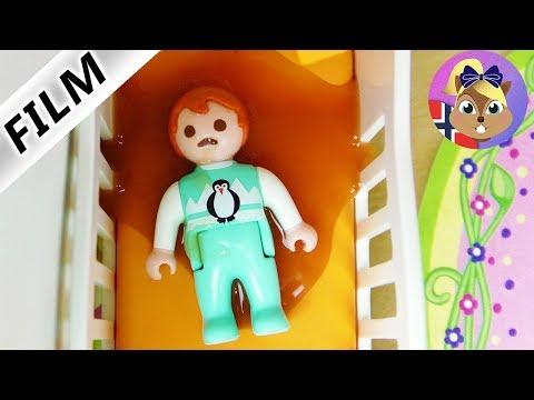 Playmobil Film Norsk   Emma spyr i søvne! Ingen må få vite det!   Barneserie Familien Smith