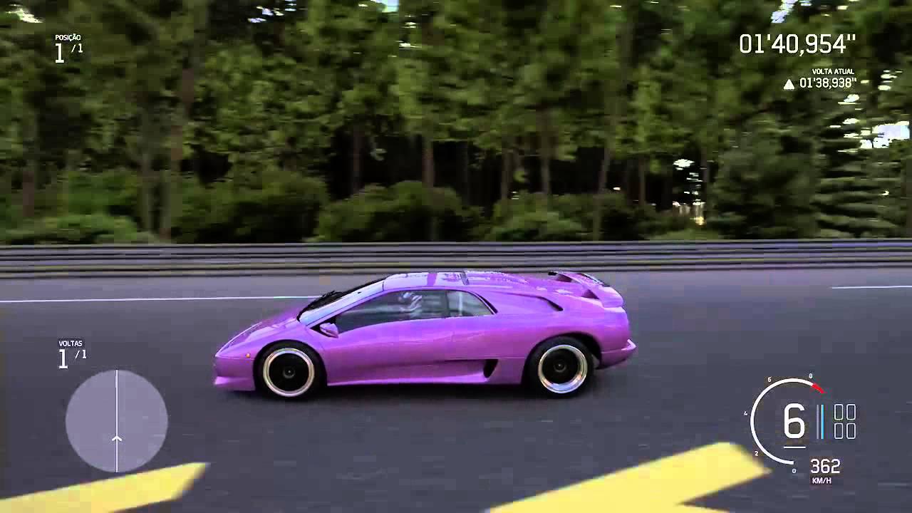 Lamborghini diablo sv top speed