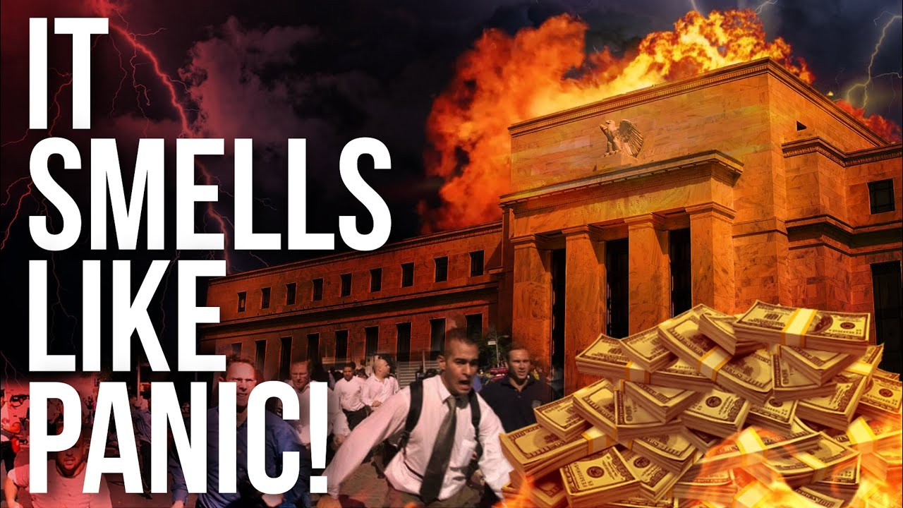 It Smells Like Panic! Government's Bank Can't Stop The Stock Market Crash !!