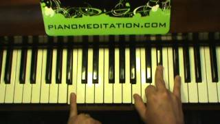 Hosanna (Hillsong) - How to play contemporary Christian piano