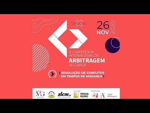 IX Conferência Internacional de Arbitragem de Luanda