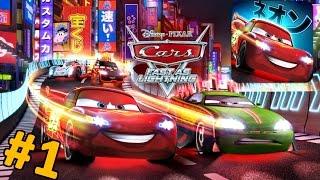 Тачки: Быстрые как Молния. Прохождение игры на русском языке. Disney Cars Fast as Lightning